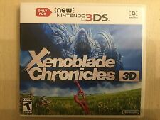 Replacement Case (NO GAME) Xenoblade Chronicles 3D - Nintendo 3DS