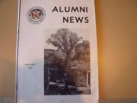 University of Maryland ALUMNI NEWS January, 1939