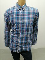 Camicia TOMMY HILFIGER Uomo Taglia Size XL Shirt Man Chemise Homme Cotone 8059