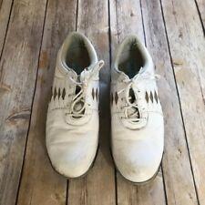 Girl's / Women's Footjoy Summer Series Golf Shoes Size 5.5 White Tan Diamond