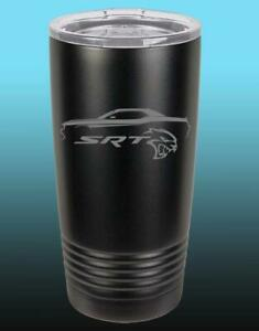 Dodge SRT Hellcat Challenger Outline 20oz / 30oz Stainless Steel Tumbler