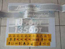 Serie Decalcomania-Adesivi Per Trattore Lamborghini 1356DT..