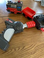 FISHER PRICE GEOTRAX REMOTE CONTROL TRAIN WORKIN TOWN RAILWAY~Tested - Works