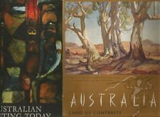 AUSTRALIAN PAINTING TODAY by Pringle LAND OF CONTRASTS Hill + ART & AUST 4 BOOKS