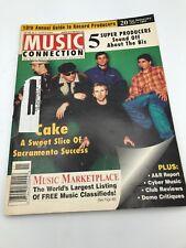 MUSIC CONNECTION MAGAZINE 1997 Cake Ice T Ronnie James Dio Slapbak