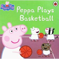 Peppa Plays Basketball  Picture Book  Ladybird PAPERBACK NEW FREE P&P