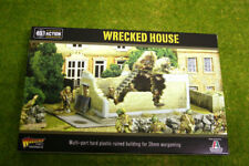 Wrecked House Terrain Bolt Action Warlord Games 28mm