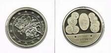 Penning met afbeelding 1 euro en munten Letland (a101)