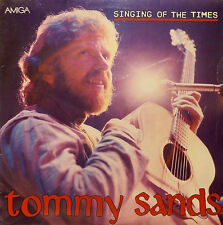 Tommy Sands. Singing of the Times. AMIGA. NM/ G-VG
