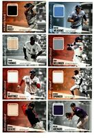 2019 Topps Update MAJOR LEAGUE MATERIAL RELIC You Pick $0.99 SHIPPING