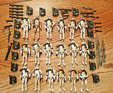 Star Wars Saga Legacy Sandtrooper Lot of 18 Loose
