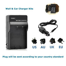 Battery Charger for JAZZ HDV188 HDV-188 HD Camcorder(UPC:8-52306-40381-4)