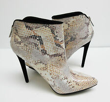 4594481b366 Michael Antonio Women s Troops Snake Skin Embossed Ankle Booties Boots Size  8.5
