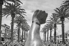 Black Lives Matter Bracelet BLM Wristband Silicone Wrist Band Bangle Black