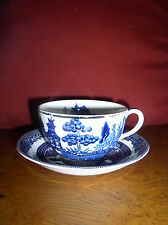 Johnson Bros.-Willow: 2 Cup and Saucer Sets