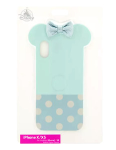 Disney DTech 10 X XS iPhone Case ✿ Minnie Mouse 3D Glitter Bow Polka Dots Ears