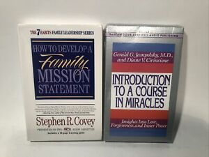 How to Develop a Family Mission Statement by Stephen R. Covey + Bonus Book!