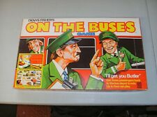 VINTAGE ON THE BUSES BOARD GAME COMPLETE EXCELLENT CONDITION