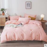 3D Cute Strawberry ZHUA4179 Bed Pillowcases Quilt Duvet Cover Set Queen King Zoe