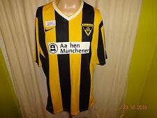 "Alemannia Aachen original nike hogar camiseta 2009/10 ""Aquisgrán Munich ayuda"" talla XXL"