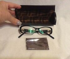 NEW FENDI F996 001 51mm Eyewear RX Optical FRAMES Glasses Eyeglasses Italy