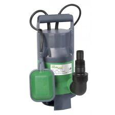 Pompe vide-cave eaux chargées 400 Watts + interrupteur flotteur