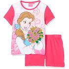 DISNEY pyjama pyjashort pyjacourt BELLE 3 4 5 ou 6 ans PRINCESSE rose NEUF
