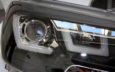FRONT SCHEINWERFER SCHWARZ VW T5 GP AB 2009 MIT ECHTEM LED TAGFAHRLICHT UBAR NEU