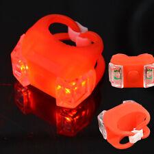 Waterproof Silicone Bike Bicycle Safety Lighting Frog LED Tail Light Flashlight