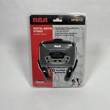 Vintage RCA AM/FM Stereo Cassette Player RP1872 NEW