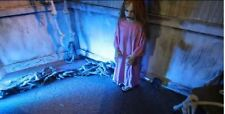 PROFESSIONAL PROP ANIMATED CREEPY GIRL CATHY HALLOWEEN DECORATION *SEE VIDEO!*