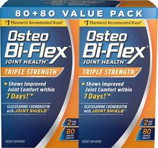 Osteo Bi-Flex® Triple Strength, 80ct x 2 Coated Tablets Joint Health & Support