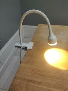 White Habitat Desk Light LED 3W