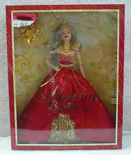2014 Blonde Holiday Barbie Collector Doll Red & Gold NIB
