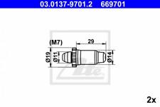 Reparatursatz, Automatische Nachstellung für Bremsanlage ATE 03.0137-9701.2