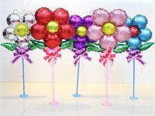 Set of 8 Flora Foil Balloons Kindergarten Kids Birthday Parties Christmas School