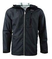 Genuine ASICS Men's Waterproof Breathable Jacket Black SIZE LARGE