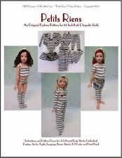 """Petits Riens"" Fashion Pattern for Kish Chrysalis Dolls"