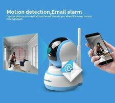 Home Security Video CAMERA with cell phone App WiFi SMOKE FIRE GAS 911