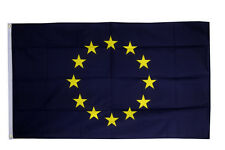 European Union EU Flag 3 x 2 FT - 100% Polyester With Eyelets - Stars Euro