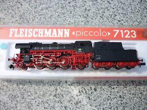 Fleischmann Piccolo 7123 Dampflok mit Schlepptender  N  Digital  OVP