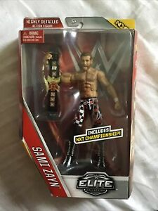 WWE Elite 40 Sami Zayn  New  Mattel NXT Belt