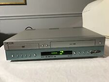 Go Video Sonic Blue Dvd Vhs Vcr Combo Player Dvr4300 4 Head Recorder Dual Deck