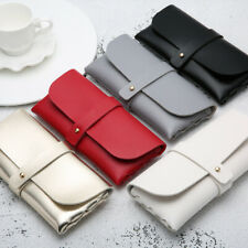 Soft Leather Eye Glasses Case Box Sunglass Protector Travel Fashion Pouch Bag