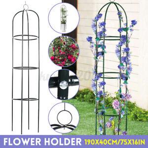 75x16in Garden Arch Plant Climber Vine Yard Trellis Obelisk Flower Support Cage