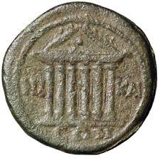 "Caracalla AE24 of Nicaea, Bithynia ""Hexastyle Temple"" Rare"