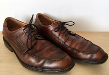 ECCO Mens Brown Leather Oxford Windsor Lace Up Dress Shoes Size 11-11.5 US 44 EU
