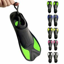 Snorkeling Diving Swimming Fins Adult/kids Flexible TPR+PP Flippers For Sports