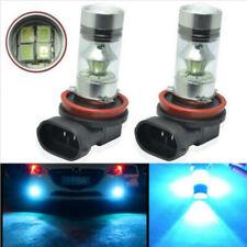 2Piece H11 H8 100W LED 8000K ICE BLUE 2323 Projector Fog Driving Light Bulbs