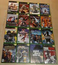Lot 16 JEUX (HALO...) - Microsoft Xbox 1ère génération - Français - Complet